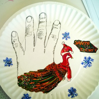 Thanksgiving Hand Turkey!
