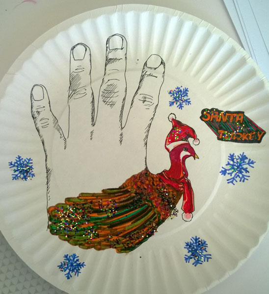 Yingying's First Hand Turkey