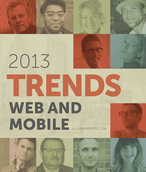 book cover: web and mobile trends 2013