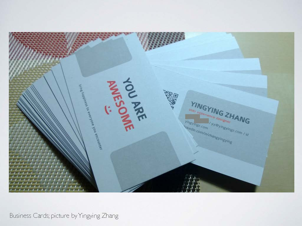 Enjoyize User Experience - Image - Business Card