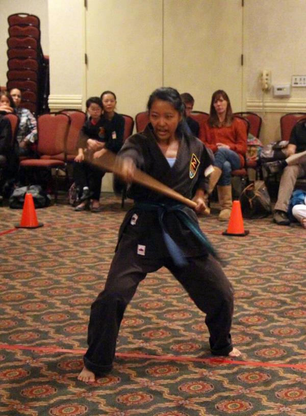 2014 Yingying Karate Tournament Bo Staff