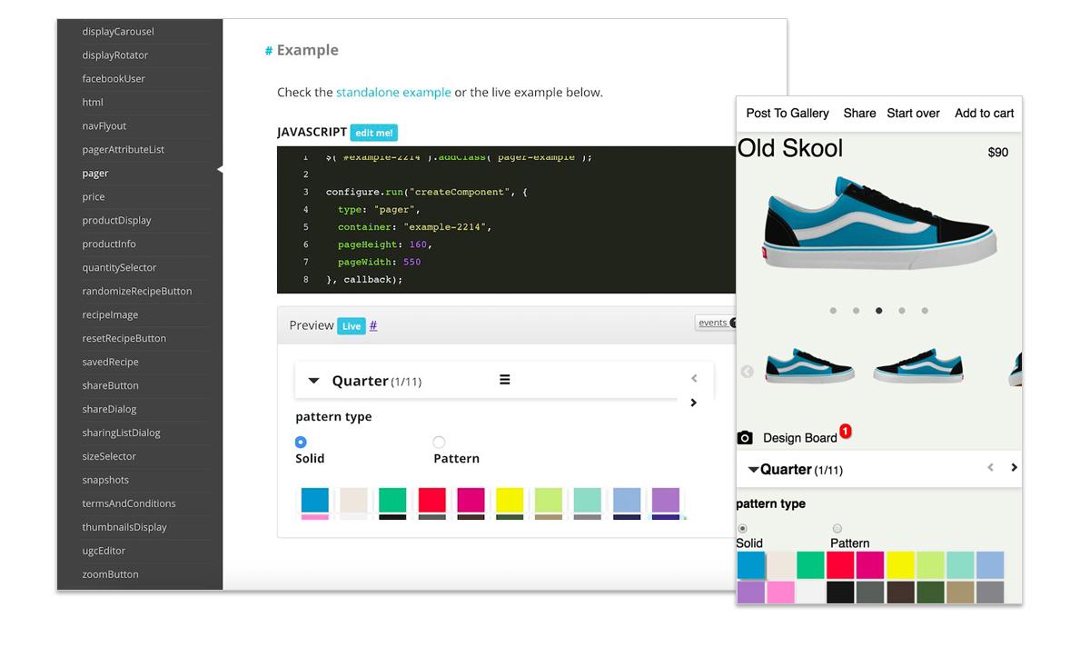 fluid custom product documentation