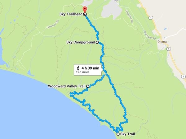 20170625 Sky Trail Coast Trail