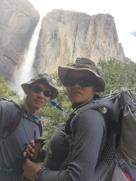 201706 yosemite day 1 we at upper yosemite falls