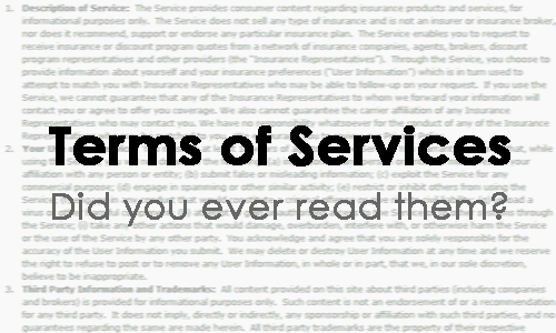 Terms of Services, did you ever read them?