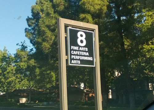 DVC Parking Lot 8 Sign