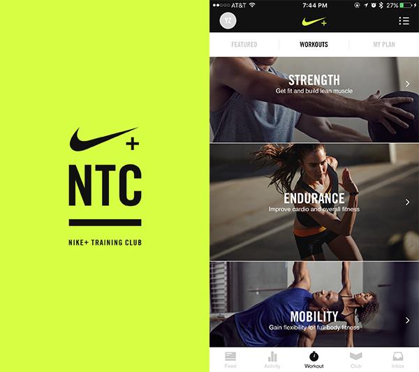 Everyday UX - Nike Training Club (NTC) App | Yingying Zhang