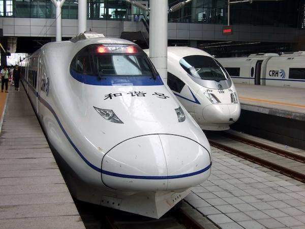 high speech train china