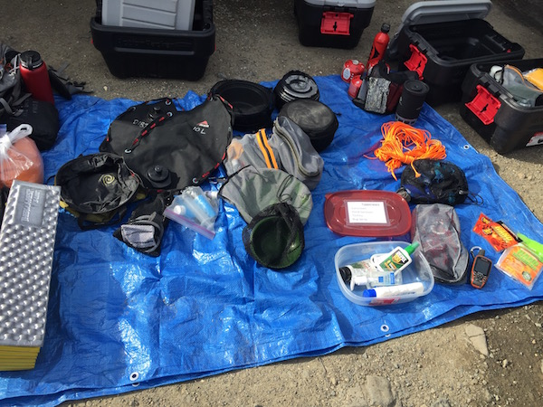 REI Backpacking trip 1